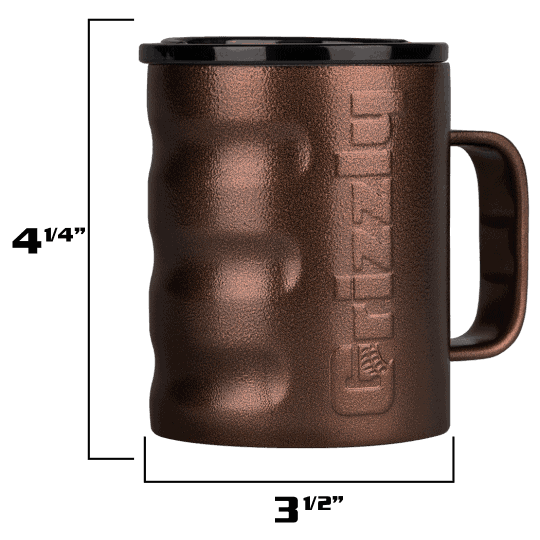 grizzly grip camp cup outside dimensions