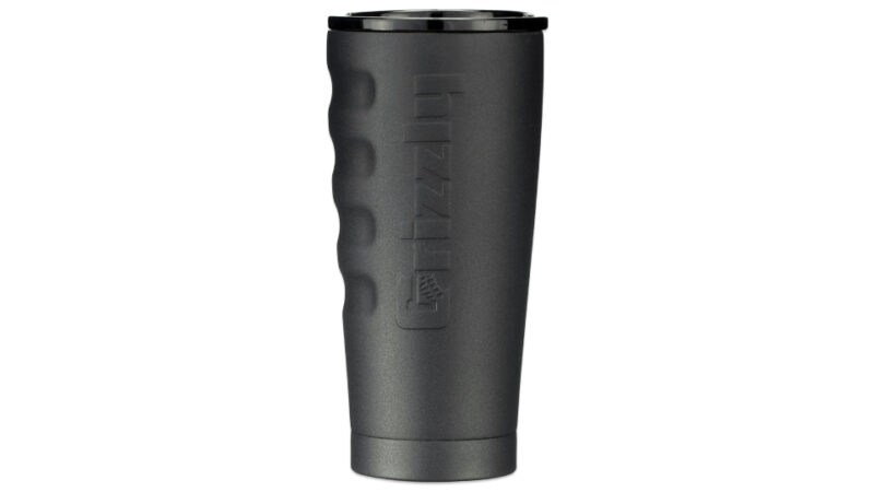 Textured Charcoal 20 Oz Stainless Steel Cup