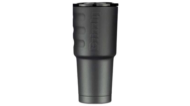 Textured Charcoal 32 Oz Stainless Steel Cup