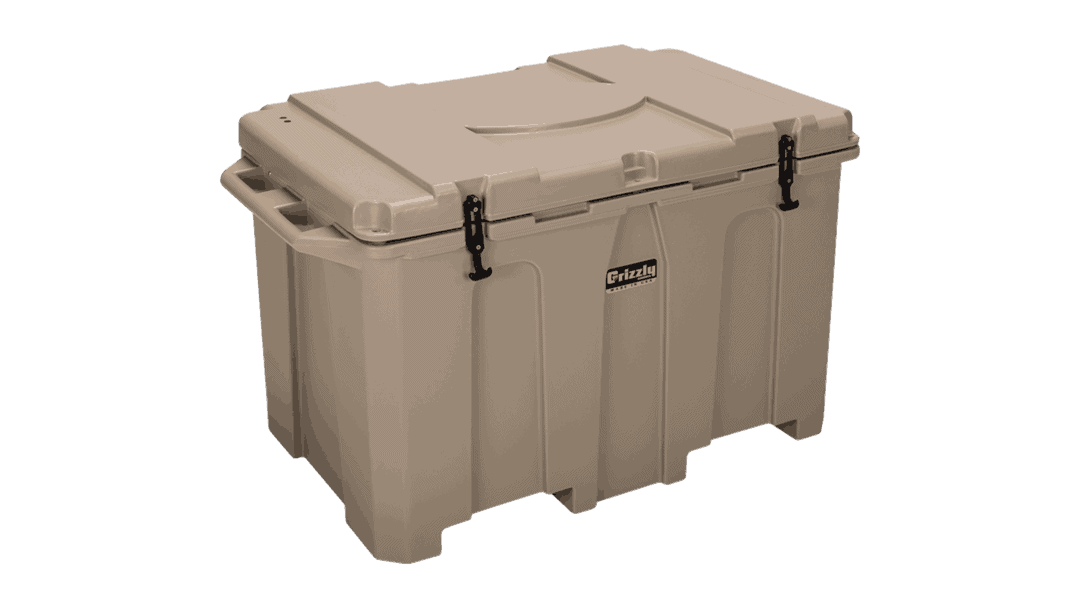 Grizzly 15 Quart Marine Ice Chest Hard Sided Rotomolded Cooler Red Brand New