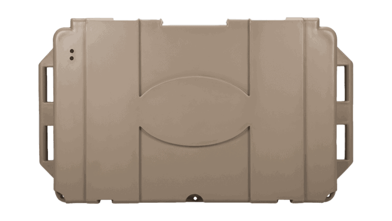 Grizzly 400 Tan Cooler - Lid View