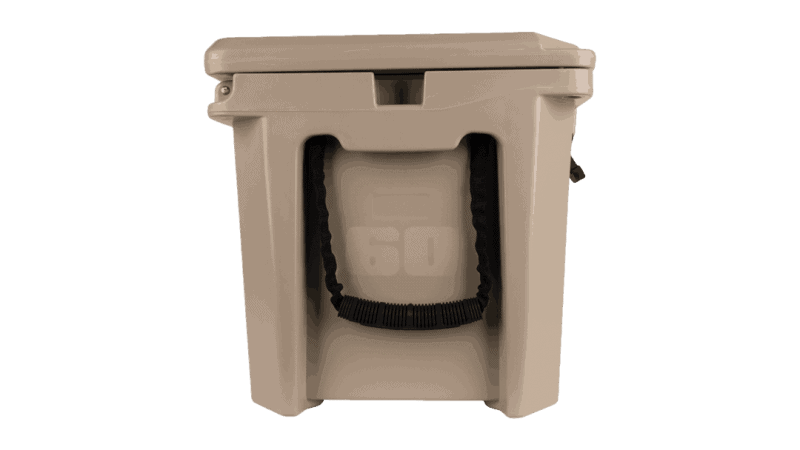 side view of grizzly 60 qt cooler