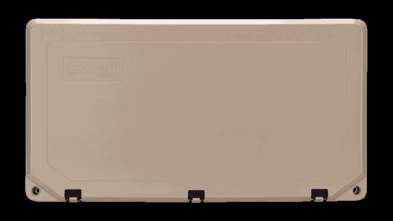 Grizzly 75 Quart Tan Cooler Lid