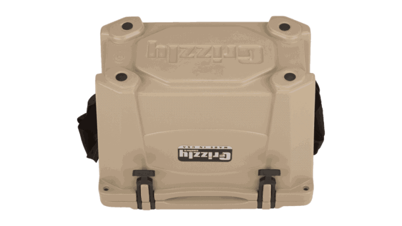 grizzly 15 cooler bottom view