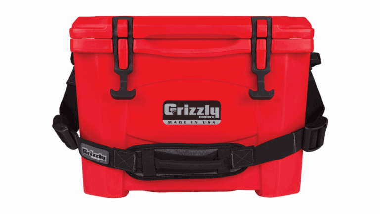 red Grizzly 15 w/Carry Strap - Front View