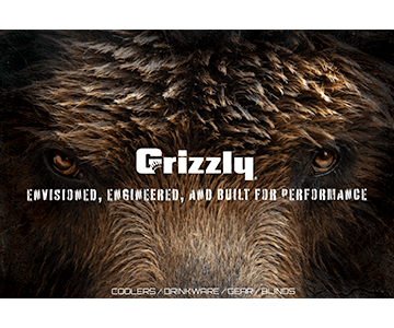 Grizzly Banner Bear Eyes