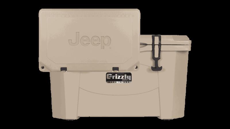 custom jeep logo cooler