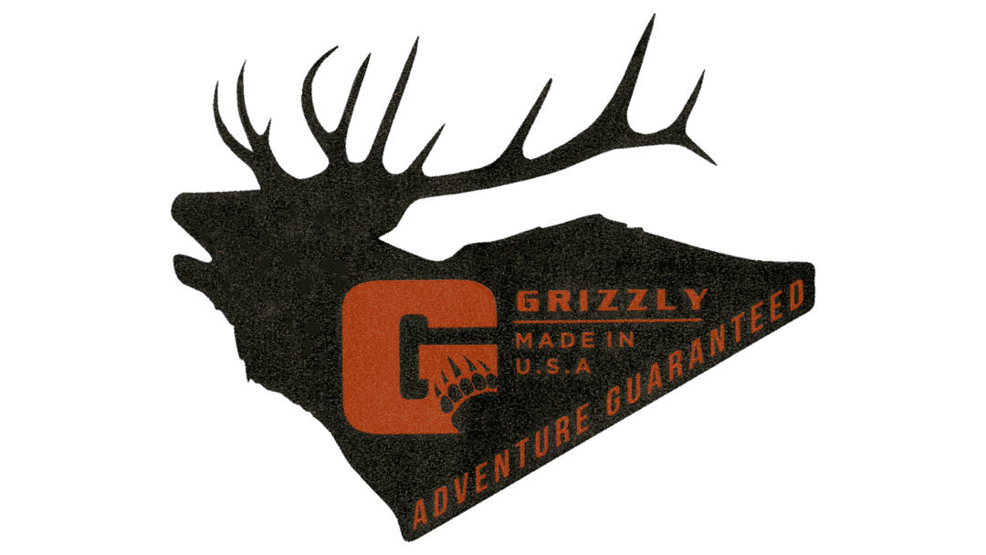 grizzly coolers elk sticker for coolers