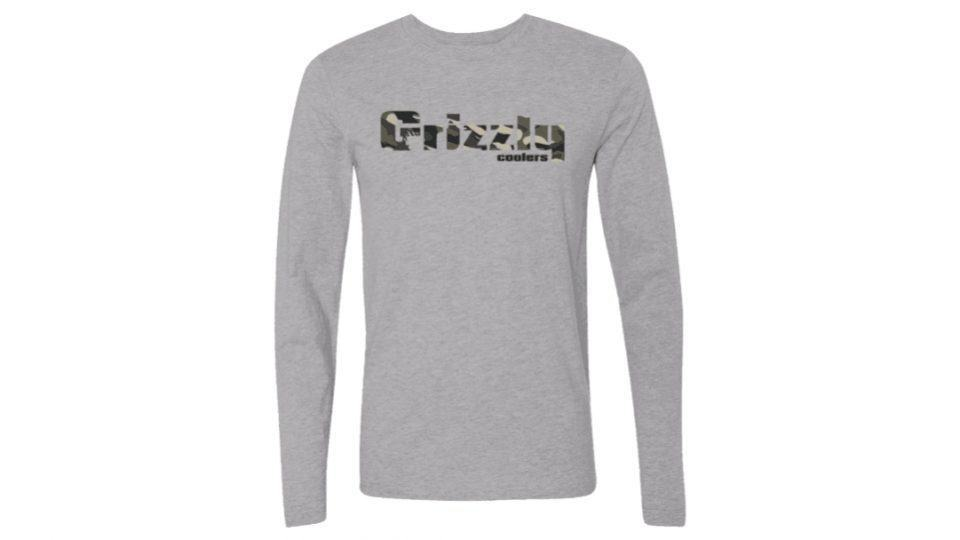 Longsleeve Grizzly Camo T-Shirt