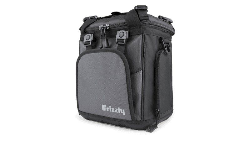 front angle view of drifter 12+ soft sided cooler