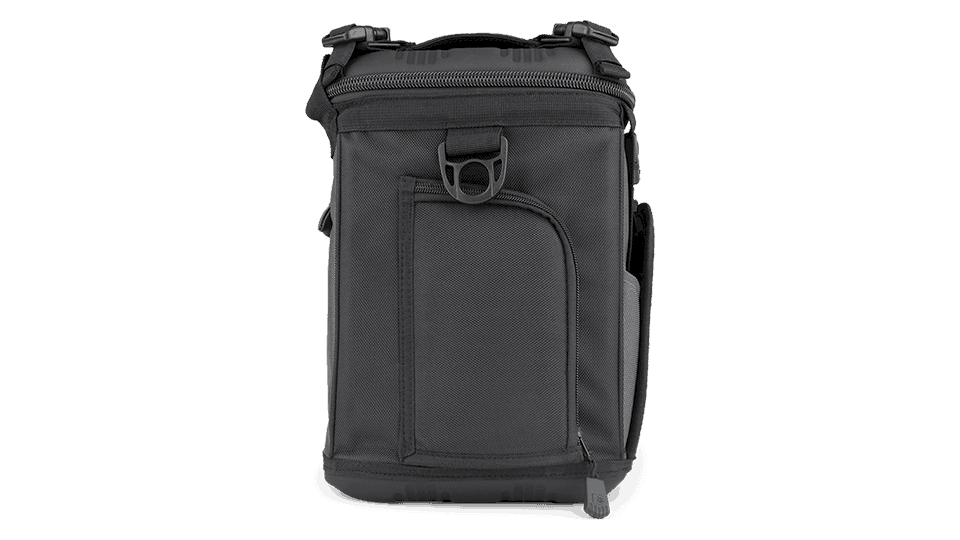 side view of grizzly soft sided cooler - drifter 12+