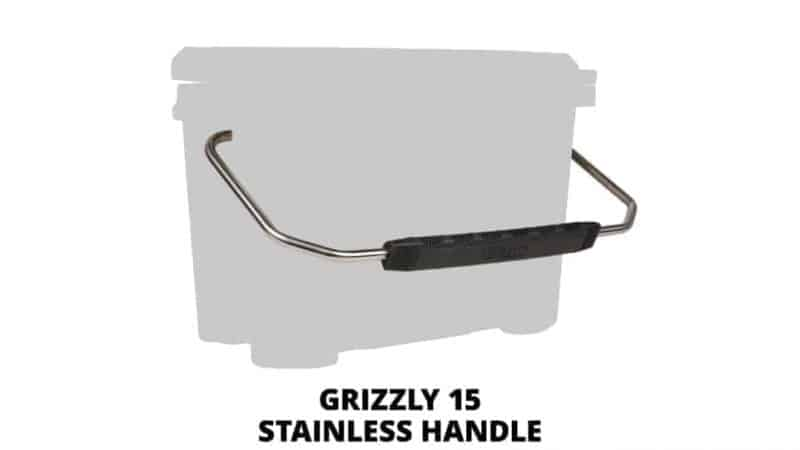 grizzly 15 stainless steel cooler handle