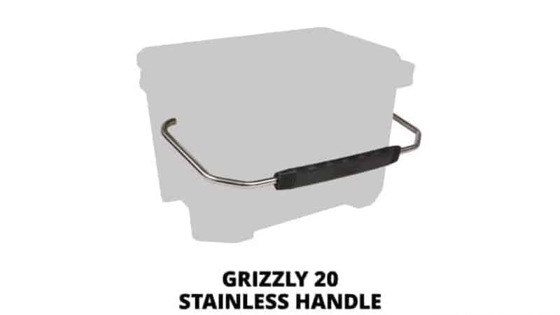 Grizzly 20 Stainless Steel Cooler Handle
