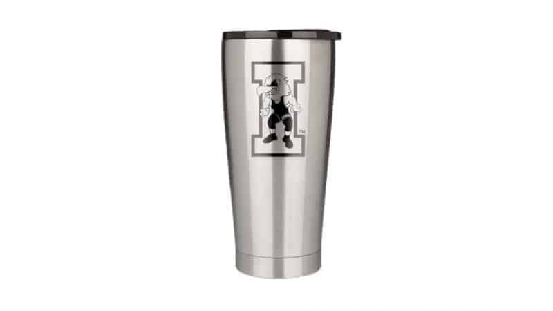 20 oz iowa hawkeye wrestling drinkware