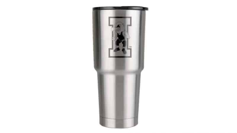 32 oz iowa hawkeye wrestling drinkware
