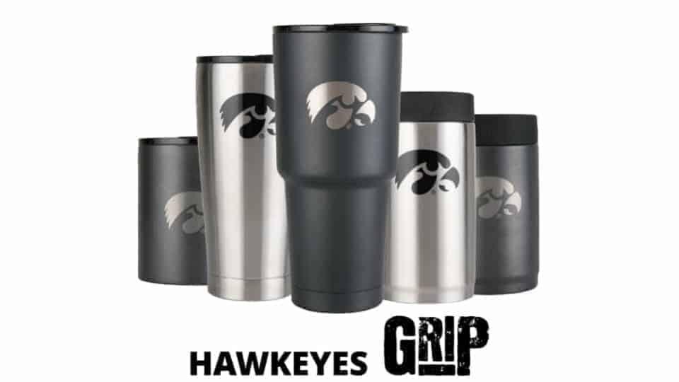 iowa hawkeye cups