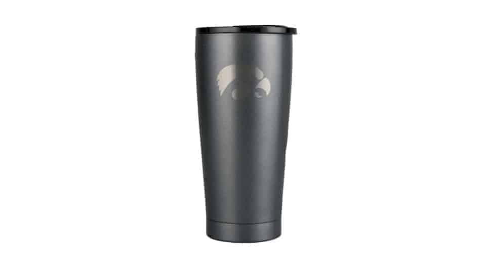 grizlzy grip 20 oz Iowa Hawkeye stainless steel cup
