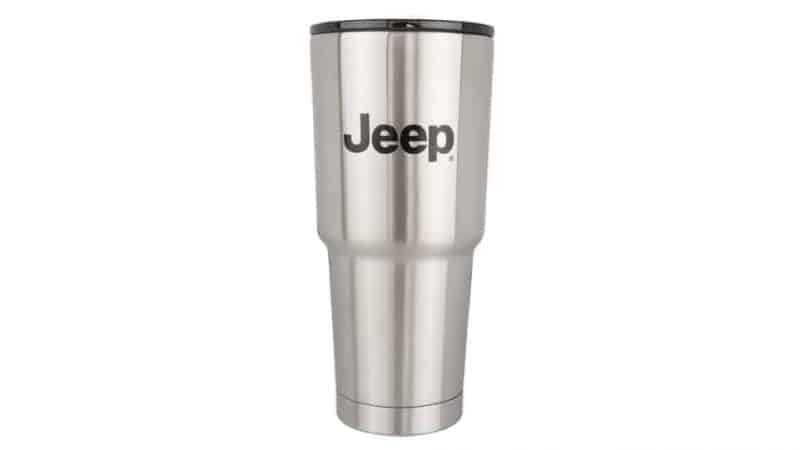 32 oz stainless steel JEEP grip cup
