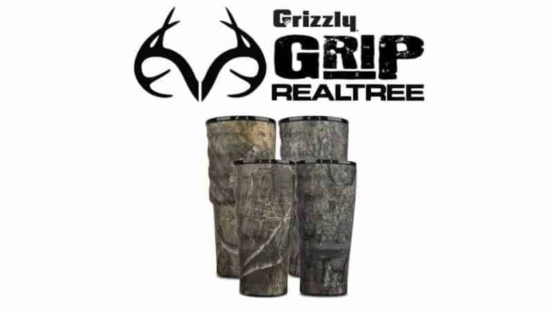 grizzly grip cups realtree collection