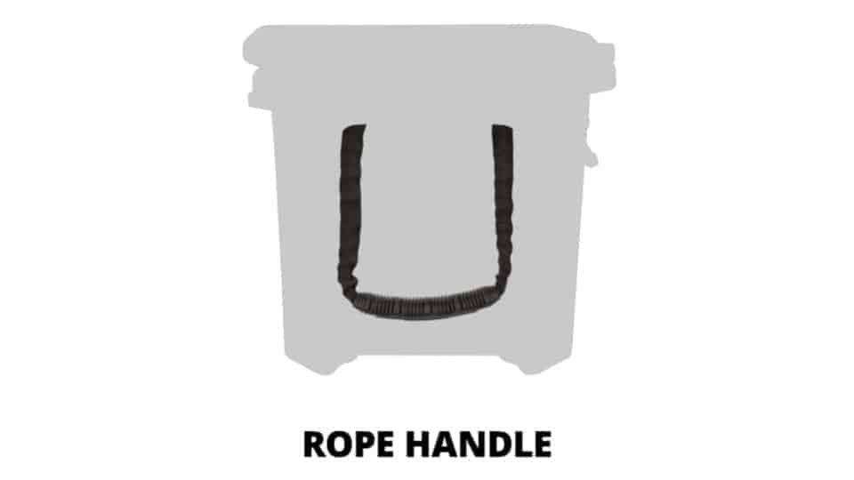 grizzly rope cooler handle