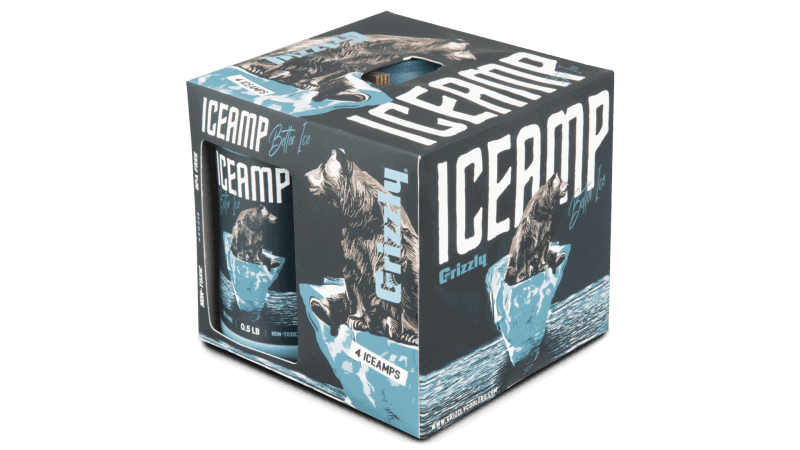 Reusable Ice packs-4 pack box of ICAMP product