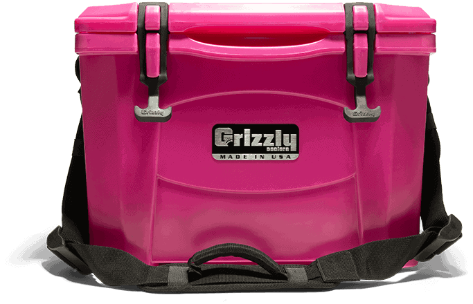 pink personal ice chest