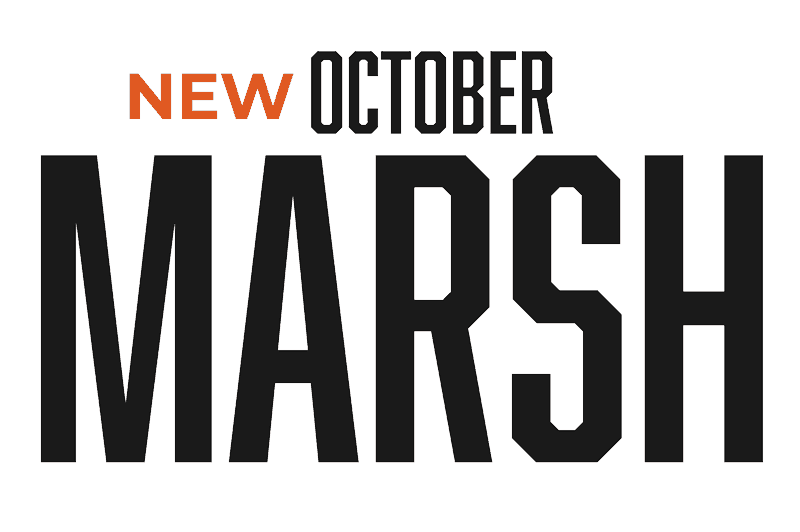 New October Marsh outdoor Drinkware icon/logo