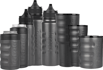double wall vacuum insulated outdoor drinkware product lineup