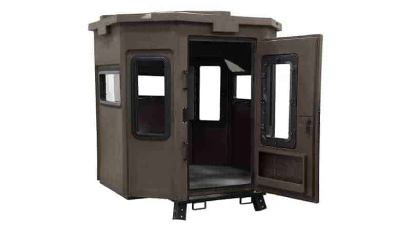 grizzly box hunting blind base model