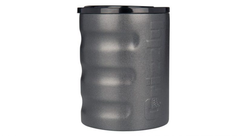 grizzly grip rocks cup textured charcoal
