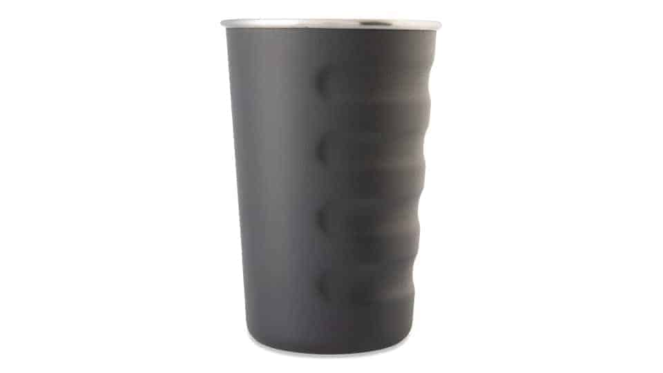16 oz tumbler in textured charcoal