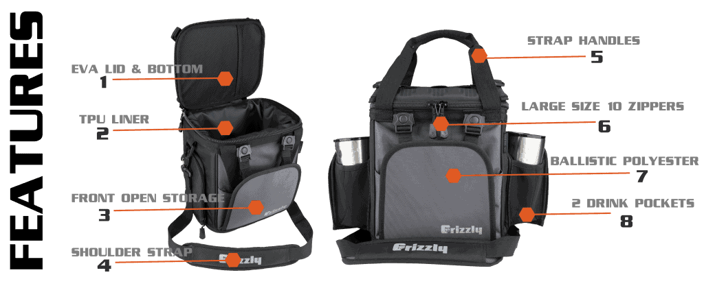 drifter 12+ soft sided cooler features
