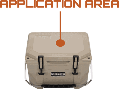 Application Area Grizzly 20 Hard-Sided Cooler