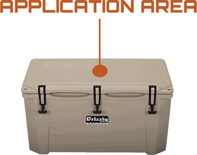 Application Area Grizzly 60 Hard Sided Cooler
