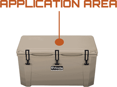 Application Area Grizzly 75 Hard Sided Cooler