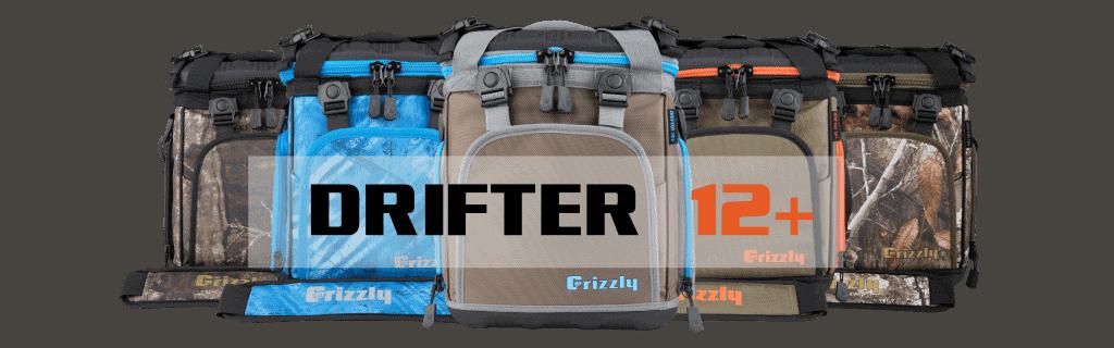 drifter 12+ soft sided cooler