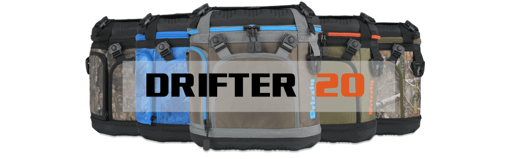 drifter 20 soft sided coolers