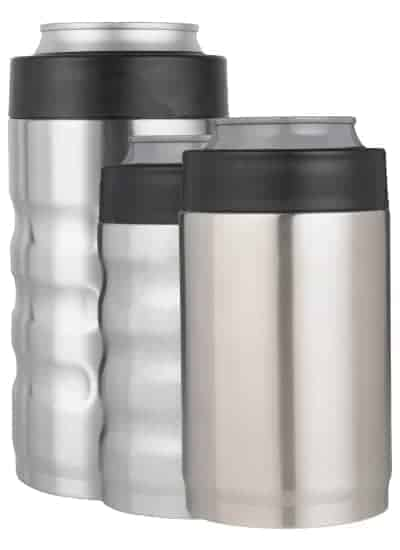 custom stainless steel can cooler options