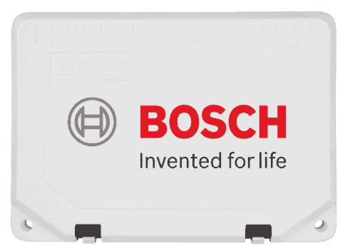 custom cooler example with bosch logo on rotomolded cooler lid