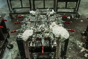 Cooler Insulation Injection Mold