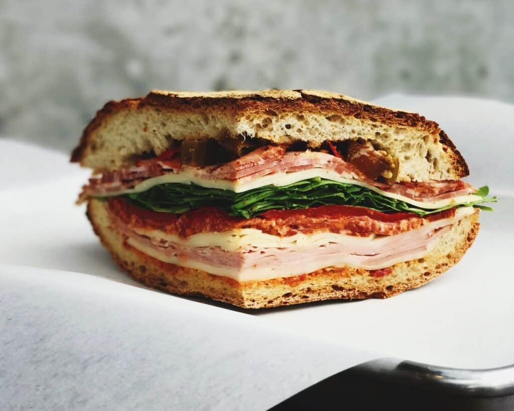 The Grazie Italian Picnic Sandwiches Recipe