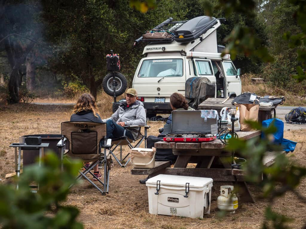 Setting Up Your Campsite