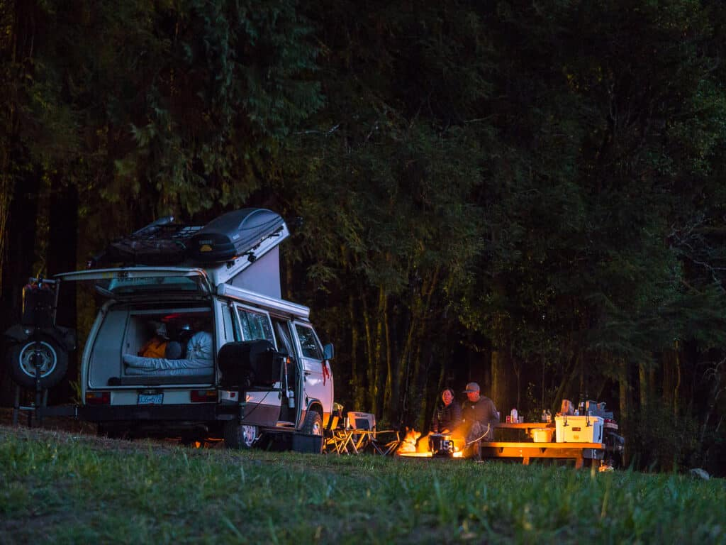 Setting Up And Enjoying Your Campsite