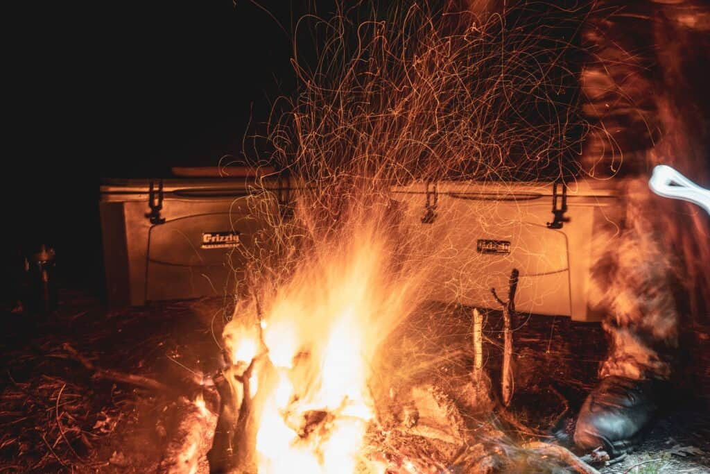 How To Build A Campfire - Grizzly Coolers