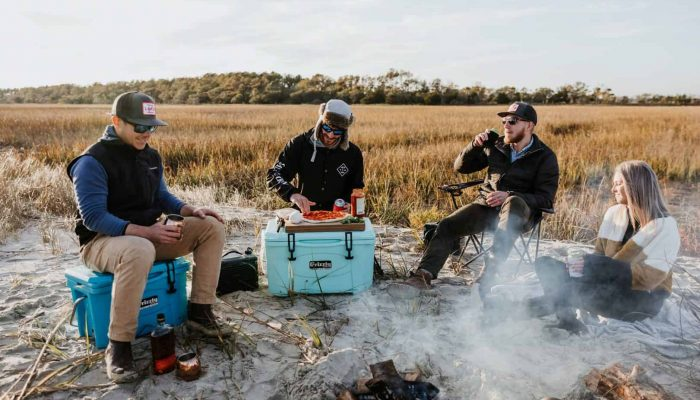 grizzly coolers coral collection